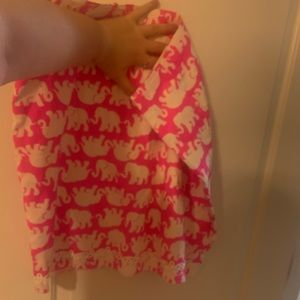 Lilly Pulitzer Fabric Handmade Skirt